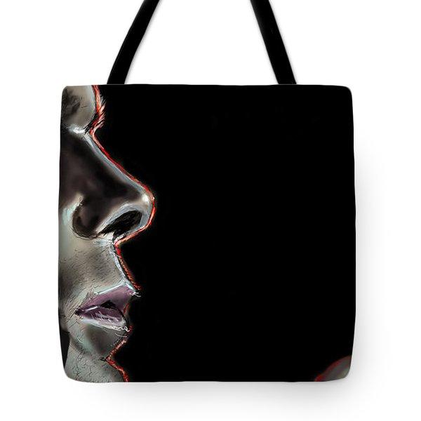 Darkly Dreaming Dexter Tote Bag by Vinny John Usuriello