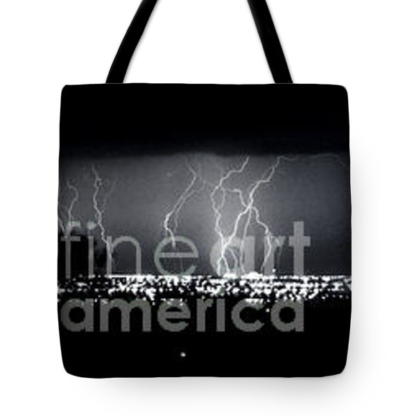 Darkness Symphony-15x72-signed Tote Bag