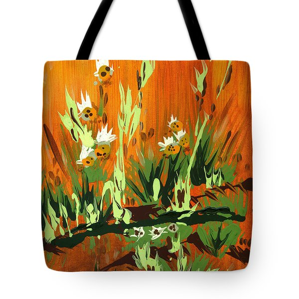 Tote Bag featuring the painting Darlinettas by Holly Carmichael