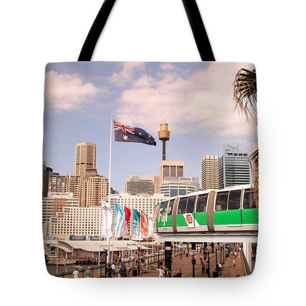 Darling Harbor Tote Bag