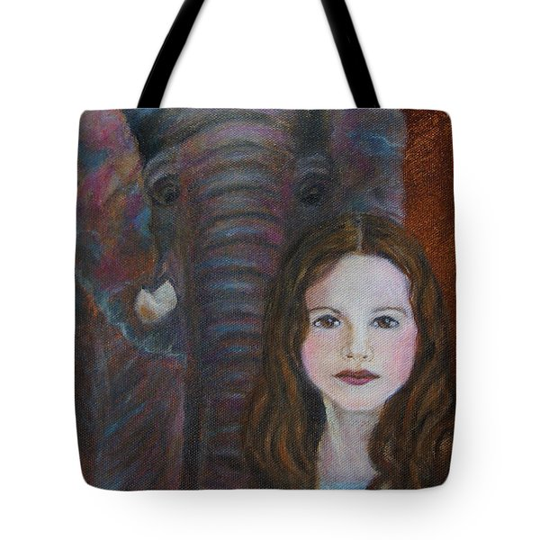 Darra  Little Angel Of                                    Feminine Wisdom And Understanding Tote Bag by The Art With A Heart By Charlotte Phillips