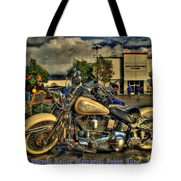 Darrell Keller Memorial Poker Run Tote Bag