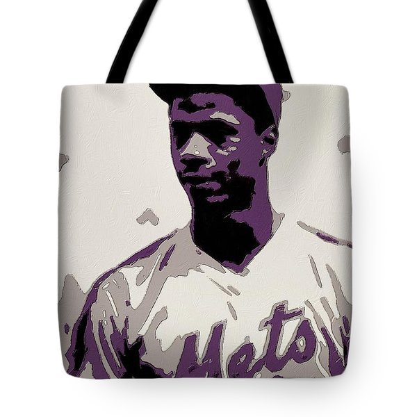 Darryl Strawberry Poster Art Tote Bag