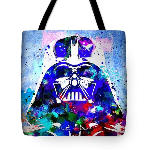 Darth Vader Star Wars Tote Bag by Daniel Janda