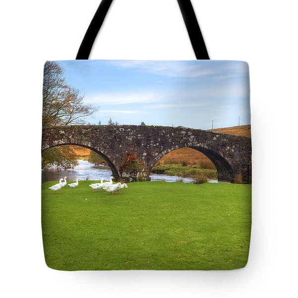 Dartmoor - Two Bridges Tote Bag by Joana Kruse