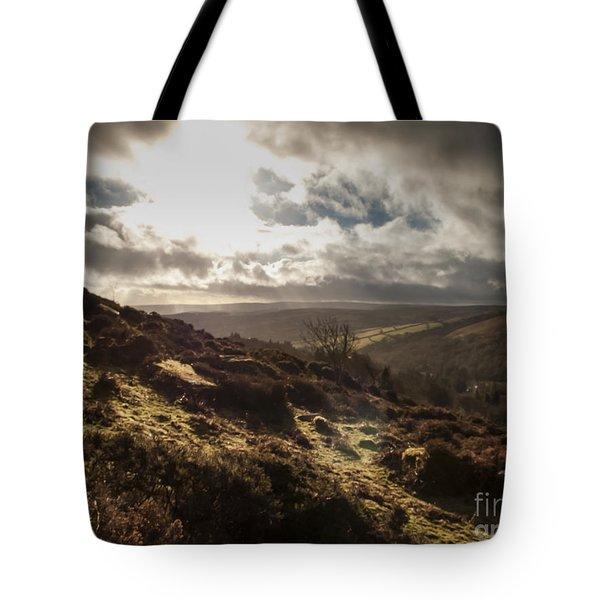 Dartmoor Drama Tote Bag