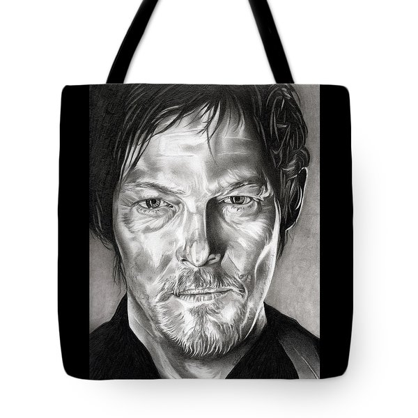 Daryl Dixon - The Walking Dead Tote Bag