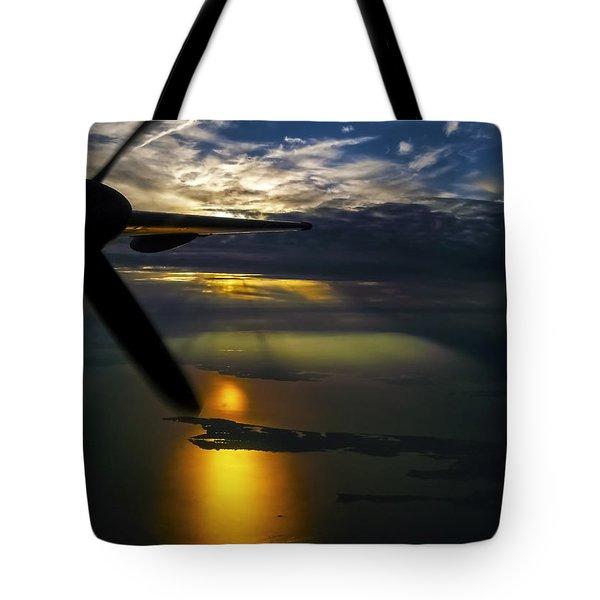 Dash Of Sunset Tote Bag