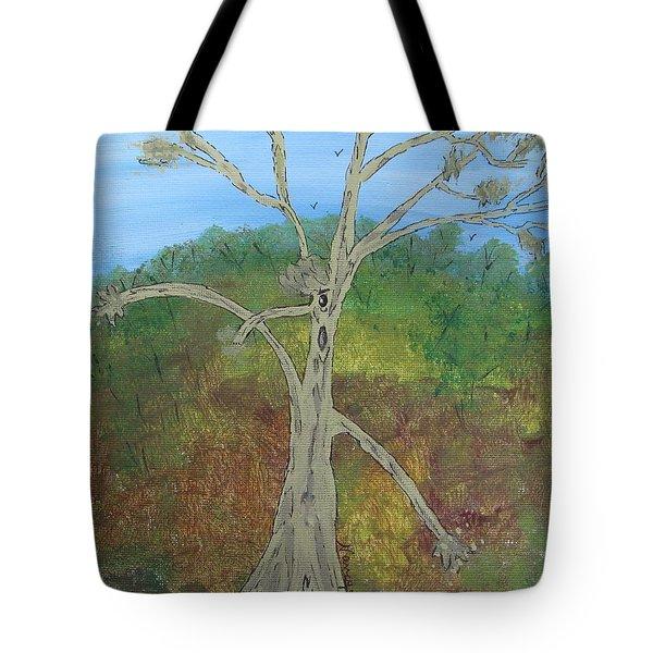 Dash The Running Tree Tote Bag