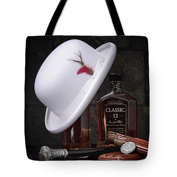 Dashing Young Man Still Life Tote Bag