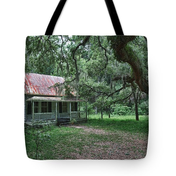 Daufuskie Homestead Tote Bag by Renee Sullivan