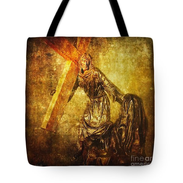 Daughters Of Jerusalem Via Dolorosa 8 Tote Bag