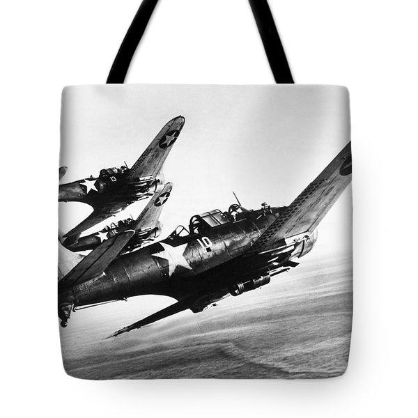 Dauntless Dive Bombers Tote Bag