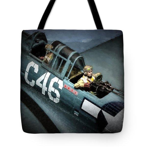 Dauntless Patrolling Tote Bag