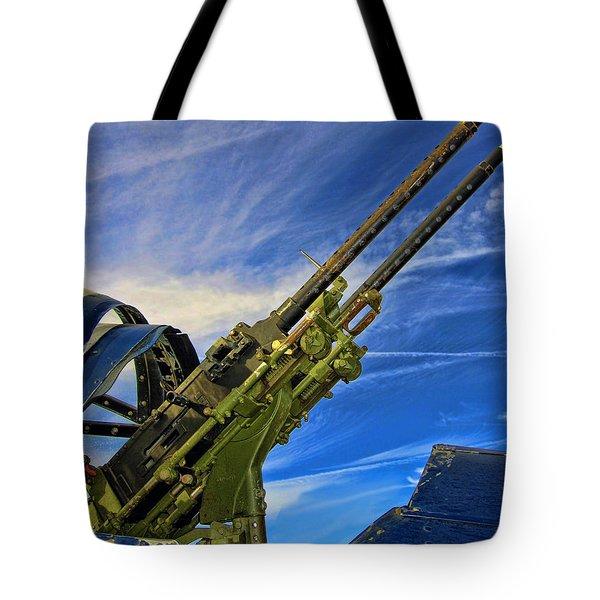 Dauntless Tail Gun Tote Bag