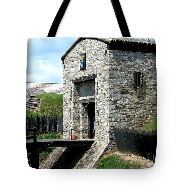 Dauphin Battery And Gate Of The Five Nations Old Fort Niagara 2 Tote Bag by Rose Santuci-Sofranko