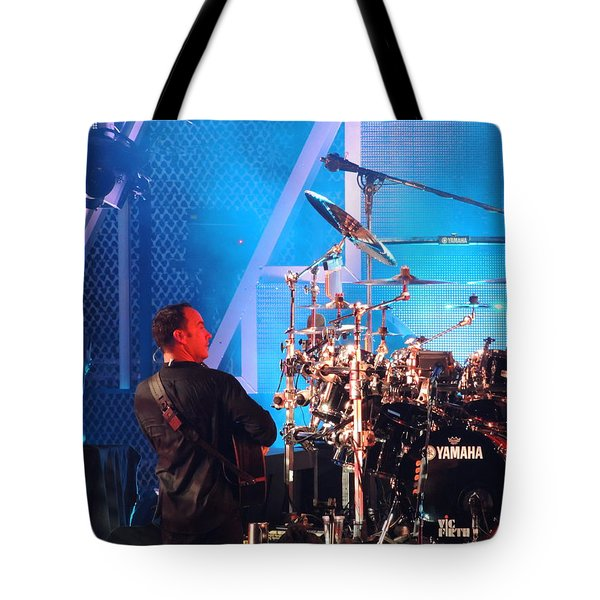 Tote Bag featuring the photograph Dave Looks At Carter by Aaron Martens