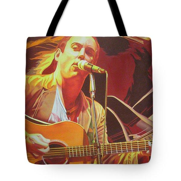 Dave Matthews At Vegoose Tote Bag by Joshua Morton