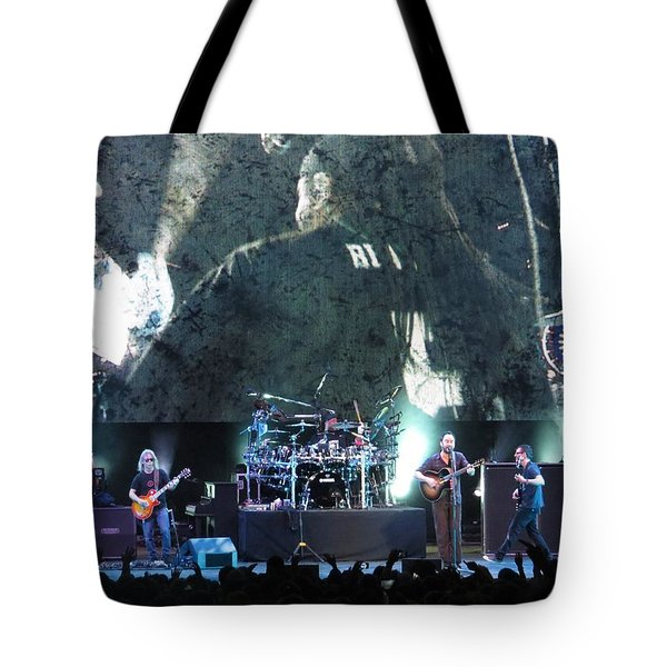 Dave Matthews Band Rocks Final Four Weekend Tote Bag by Aaron Martens