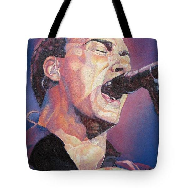 Dave Matthews Colorful Full Band Series Tote Bag