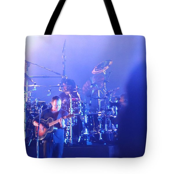 Tote Bag featuring the photograph Dave Matthews Jamming In Tampa Flordia  by Aaron Martens