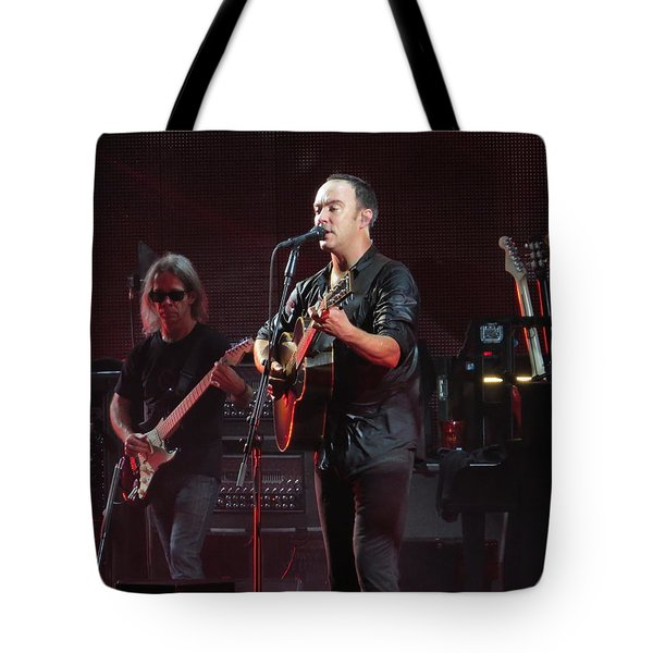 Dave Matthews Live Tote Bag by Aaron Martens