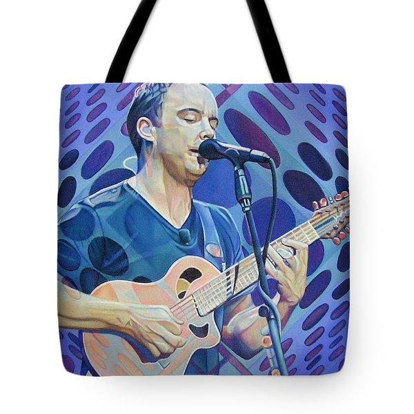 Dave Matthews-op Art Series Tote Bag