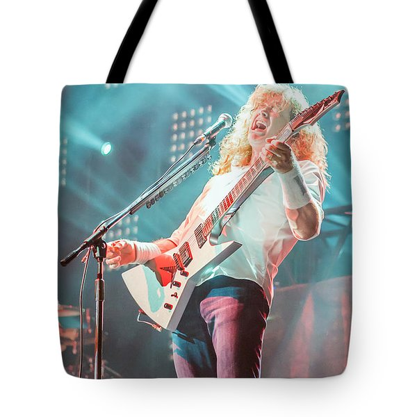 Dave Mustaine Live 2012 Tote Bag