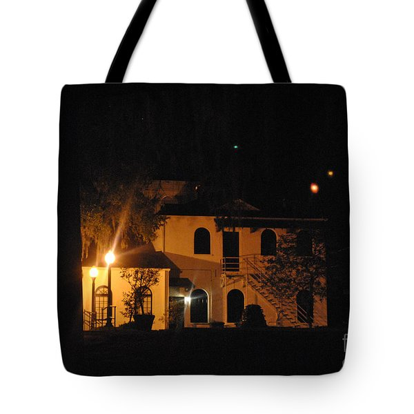 Davenport At Night Tote Bag
