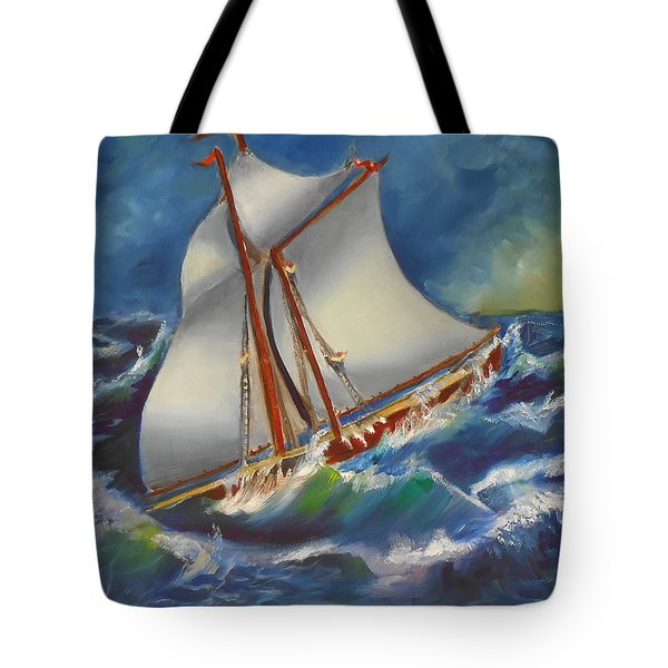 Daves' Ship Tote Bag