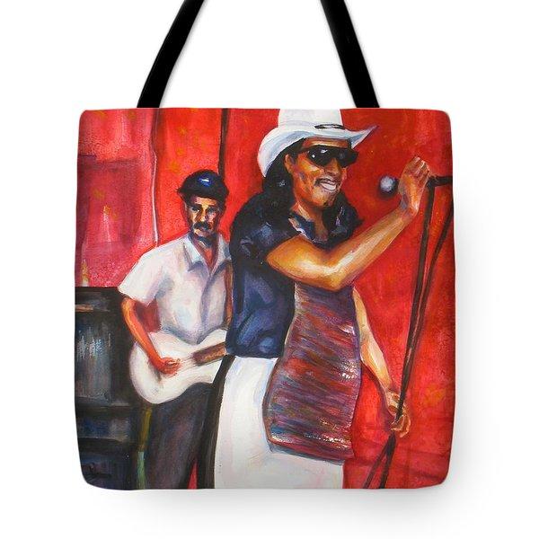 David And Buck Tote Bag