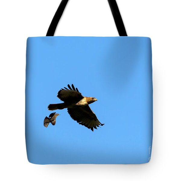 David And Goliath Tote Bag by Mike  Dawson