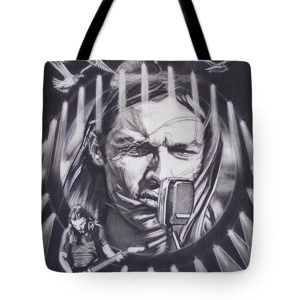 David Gilmour Of Pink Floyd - Echoes Tote Bag