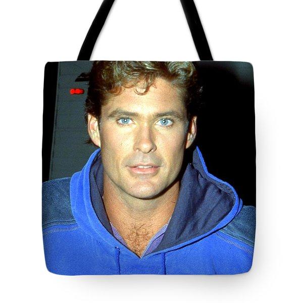David Hasselhoff 1991 Tote Bag