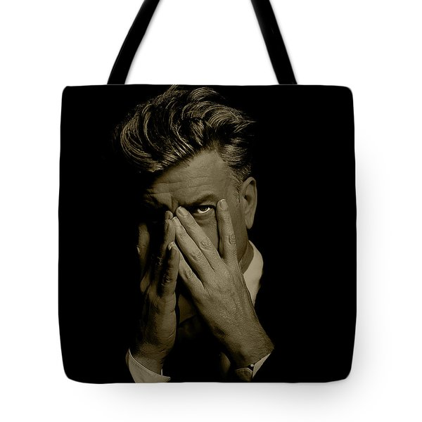 David Lynch Hands Tote Bag
