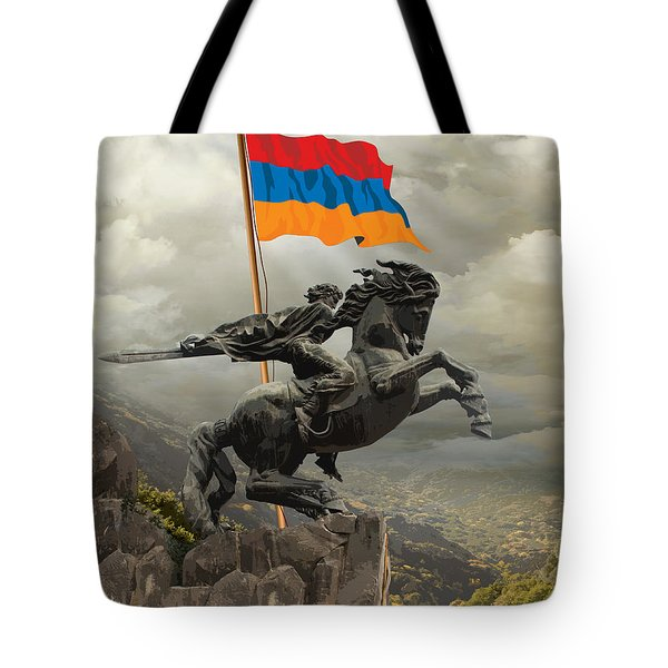 David Of Sassoun Tote Bag
