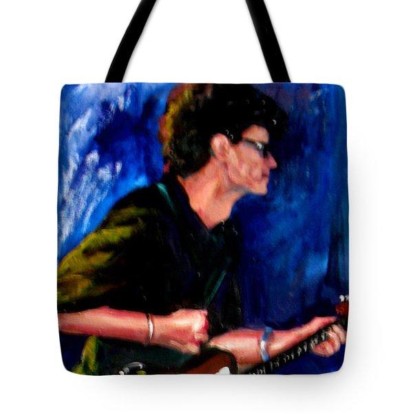 David On Guitar Tote Bag