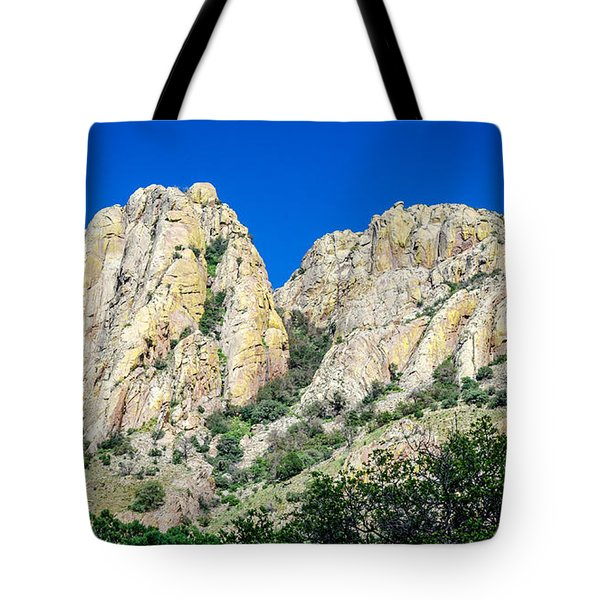 Davis Mountains Of S W Texas Tote Bag