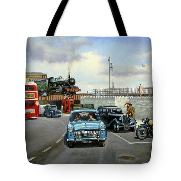 Dawlish Summer. Tote Bag
