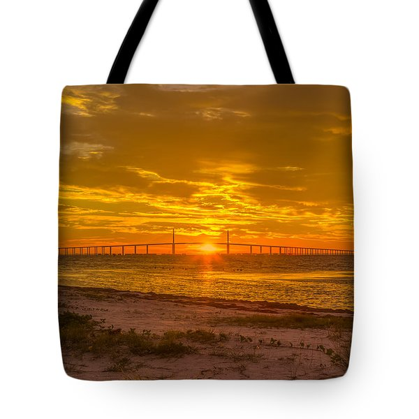 Dawn Arrives Tote Bag by Jane Luxton