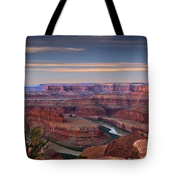 Dawn At Dead Horse Point Tote Bag