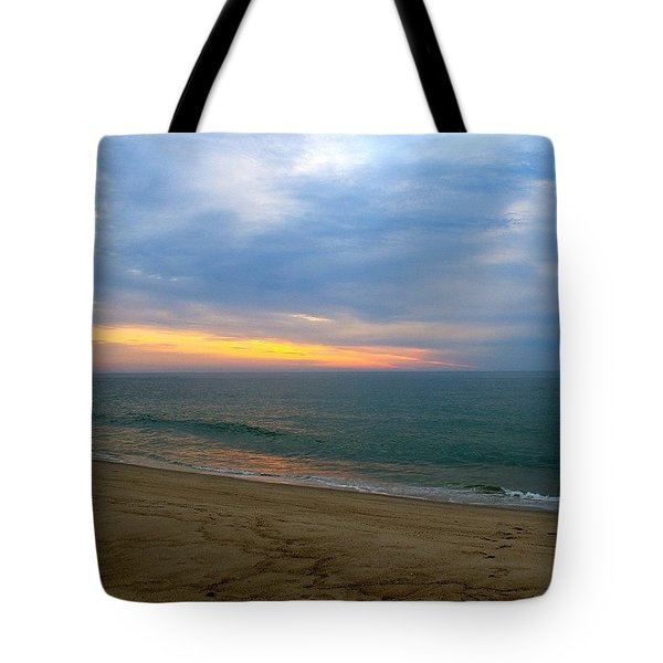 Dawn At Nauset Tote Bag