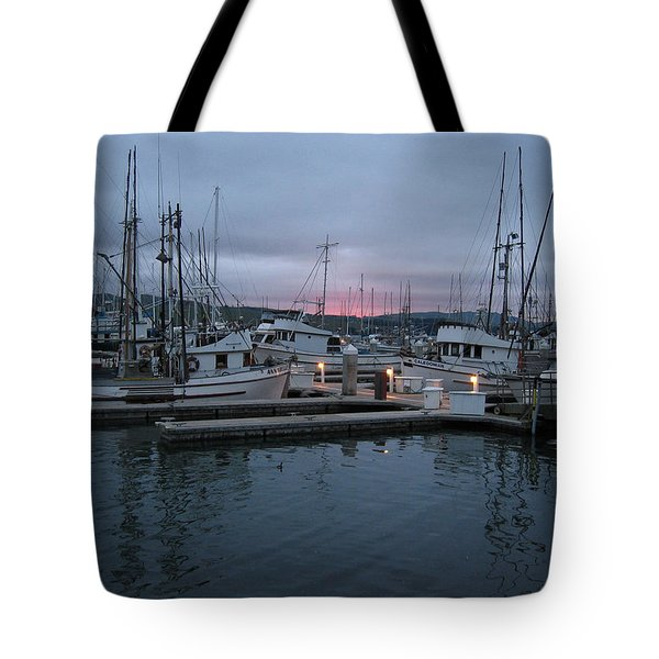 Tote Bag featuring the drawing Dawn by Dianne Levy