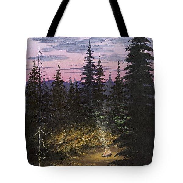 Dawn Fire Tote Bag