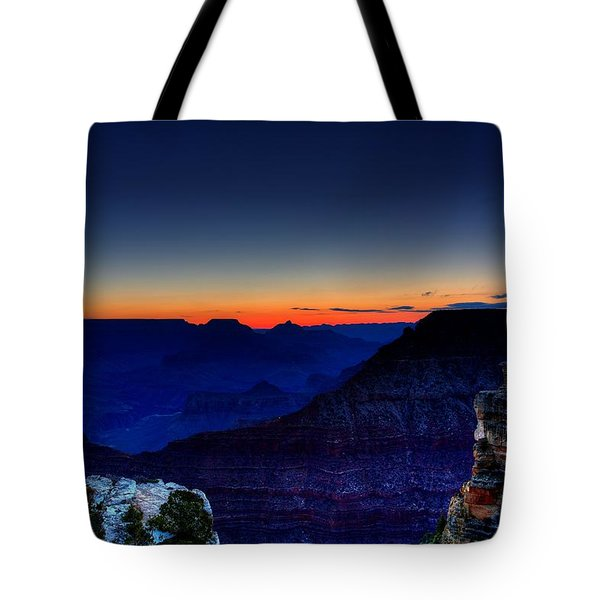 Dawn Is Breaking Tote Bag