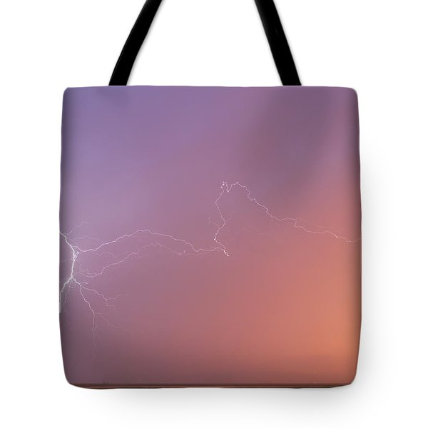 Dawn Lightning Tote Bag