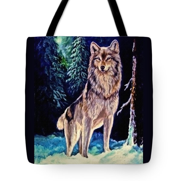 Tote Bag featuring the painting Dawn Of A New Day Original Painting Forsale by  Nadine Johnston