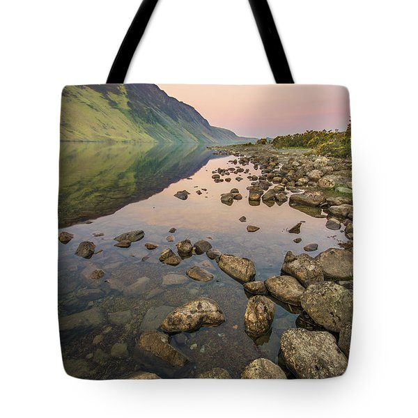 Dawn Of Evening Tote Bag