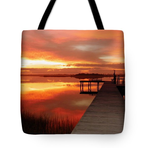 Dawn Of New Year Tote Bag