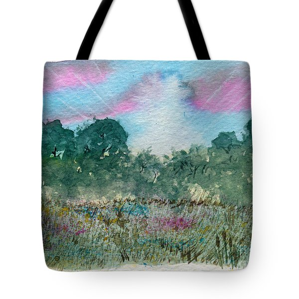 Dawn On The Marsh Tote Bag